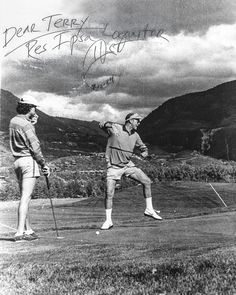 Playing Golf on Acid with Hunter S. Thompson