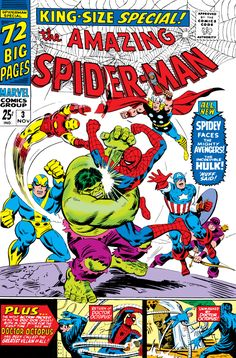 Browse the Marvel Comics issue Amazing Spider-Man Annual Learn where to read it, and check out the comic's cover art, variants, writers, & more! Marvel Comic Books, Marvel Characters, Comic Books Art, Comic Art, Book Art, Old Comics, Vintage Comics, Marvel Universe, Octopus