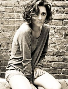 marion cotillard short curly bob - Google Search