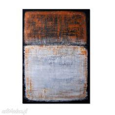 Abstrakcja R1, nowoczesny obraz ręcznie malowany. $80