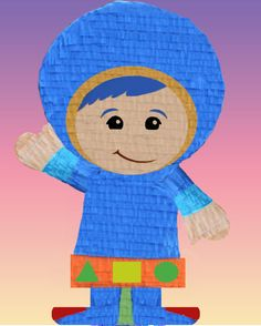 Team Umizoomi Pinata Piñata PULL STRING  OR HIT birthday party games fiesta NEW! #BirthdayChild