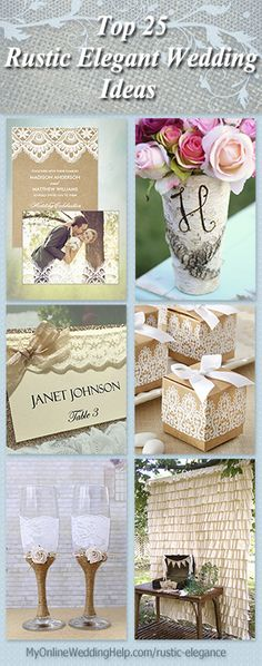 The vase with the initial adds a lot more style than a plain glass vase or mason jar. It's birch bark. #MyOnlineWeddingHelp