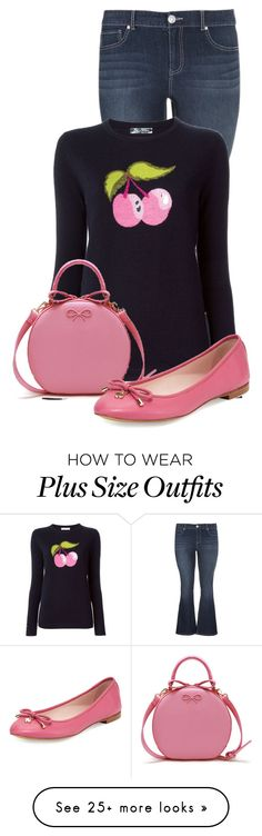 """""""Untitled #13501"""" by nanette-253 on Polyvore featuring maurices, Bella Freud and Kate Spade"""