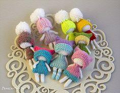 Ravelry: Mini Winter Dolls pattern by Tatyana Korobkova