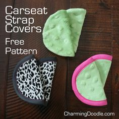 Sewing Projects For Children Free Pattern: Baby Car Seat Strap Covers Sewing Patterns Free, Free Sewing, Baby Patterns, Sewing Tutorials, Sewing Hacks, Free Pattern, Sewing Ideas, Sewing Diy, Pattern Ideas
