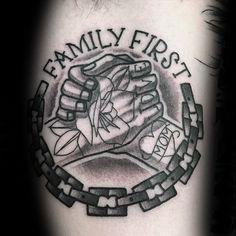 60 Handshake Tattoo Designs For Men - Symbolic Ink Ideas - ink tattoo symbolic manner ideas handshake designs - Family Tattoos For Men, Family First Tattoo, Family Tattoo Designs, Arm Tattoos For Guys, Tattoo Designs For Women, Tattoos For Women Small, Brother Tattoos, Mom Tattoos, Trendy Tattoos