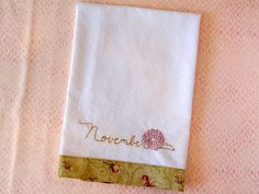 November Chrysanthemum PDF Hand Embroidery by countrygarden