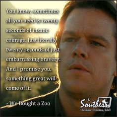 Movie Quote - We Bought A Zoo