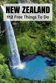 Free Things To Do In New Zealand (nationwide Free stuff to do New Zealand so you don't go broke travelling New Zealand anytime soon.Free stuff to do New Zealand so you don't go broke travelling New Zealand anytime soon. Cool Places To Visit, Places To Travel, Travel Destinations, Places To Go, New Zealand Adventure, New Zealand Travel Guide, Destination Voyage, To Infinity And Beyond, Free Things To Do
