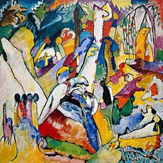 """""""Sketch for Composition"""" by Wassily Kandinsky"""