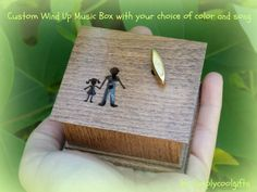 Daddys girl daddy and me music box musical box by Simplycoolgifts, $49.00