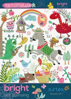 print & pattern: SURTEX 2014 - bright