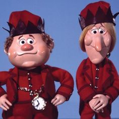 Jingle Bells and Jangle Bells from Rankin/Bass' The Year Without A Santa Claus Detail