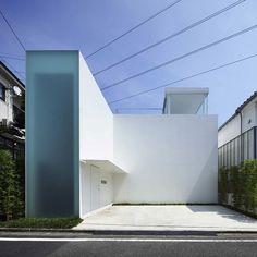 Частный дом Cube Court от студии Shinichi Ogawa / Curated.ru
