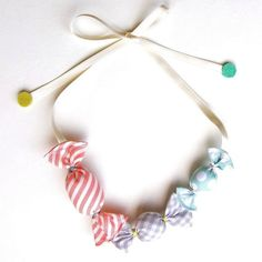 HOMAKO | Kid Friendly - Ame Candy Necklace
