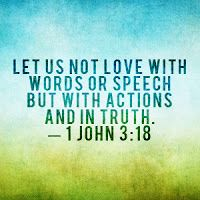 actions are the only thing that matter ..people say this or that but their actions prove or disprove it...watch how people act..
