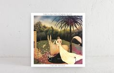 Midori Takada debut album titled Through The Looking Glass, first official reissue. Contemporary, Experimental, Ambient record from Japan, WRWTFWW records