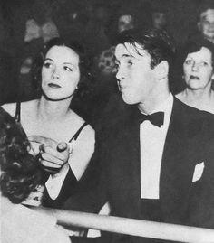 Jimmy Stewart and Eleanor Powell, 1936
