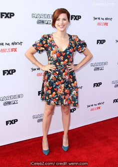 "Aya Cash Premiere Screening's For FX's ""You're The Worst"" And ""Married"" http://icelebz.com/events/premiere_screening_s_for_fx_s_you_re_the_worst_and_married_/photo1.html"
