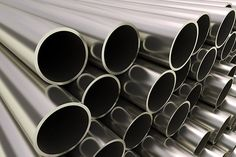 metal tubes pipe line - Close up of metal tubes… Best Online Business Ideas, Close Up, Tube, Metal, Silver, Internet, Metals, Money