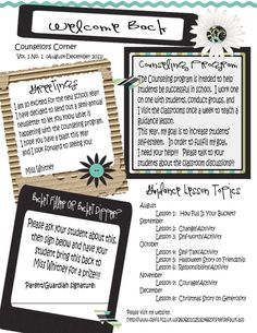 Live, Laugh, Learn, AND Love!  Great school counseling blog...