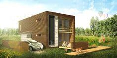"Low Impact Maison Reciprocity Home Boasts a ""Living"" Brise-Soleil Modular Building Shell | Inhabitat - Sustainable Design Innovation, Eco Ar..."