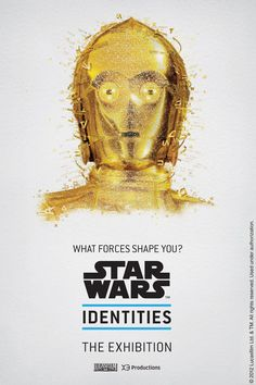Star Wars Identities exhibit poster art