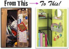 BACK 2 SCHOOL | Organizing Your Locker | TEEN DIARIES