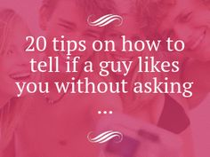 gay how to tell if a guy likes you
