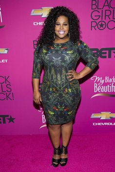 Amber Riley; DWTS wasn't ready for all her fierceness lol