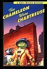 Title: The chameleon wore chartreuse from the tattered casebook of Chet Gecko,private eye [eBook] / Bruce Hale.  Publisher: Harcourt, p2001, c2000  ISBN-13: 978-0-547-56414-2  ISBN-10: 0-547-56414-7  Interest Level: 3-6  Reading Level: 3.5  Series: Chet Gecko mystery #1  Subjects:   Chet Gecko (Fictitious character)  Geckos.  Lizards.  Schools.  Lost and found possessions.  Mystery and detective stories.  Electronic books.  Copyright © 2012 Follett Library Resources, Inc.