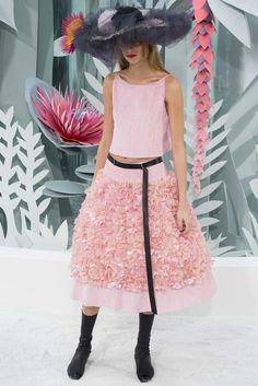 CHANEL HAUTE COUTURE SPRING SUMMER 2015 COLLECTION PARIS FASHION WEEK