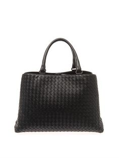 Bottega Veneta Milano intrecciato leather tote MATCHESFASHION.COM #MATCHESFASHION