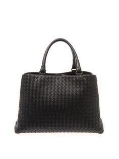 Bottega Veneta Milano intrecciato leather tote MATCHESFASHION.COM #MATCHESFASHION