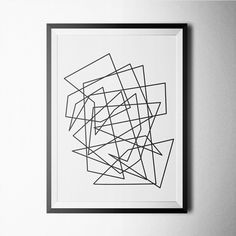 Fancy - Geometric II Print