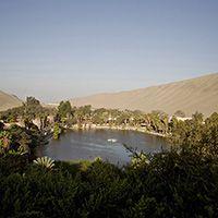 Ica Peru - Laguna de Huacachina