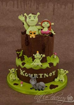 Shrek Birthday Cake ♡ ♡