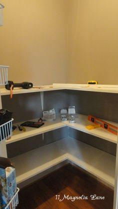 how to make pantry corner produtive