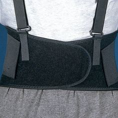 Low Back Belt to help with standing jobs or activities that involve the lumbar spine. This lumbar back belt supports your lumbar spine and weak ab muscles. It improves your posture and reminds you to lift properly. Great for after pregnancy too. #lowbackbelt #lowbackposture #lifting #lowbackposture