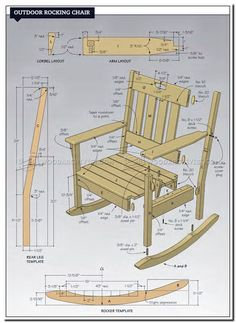 outdoor wooden chairs plans-#outdoor #wooden #chairs #plans Please Click Link To Find More Reference,,, ENJOY!! Plans Rocking Chair, Wooden Chair Plans, Outdoor Rocking Chairs, Wooden Chairs, Wooden Rocking Chairs, Wood Plans, Homemade Outdoor Furniture, Outdoor Furniture Plans, Wood Furniture