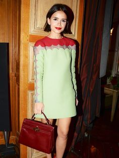 Words cannot described how much I love this girl's style (and I now must of you are like me). Miroslava Duma is a Russian beauty Icon w. Miroslava Duma, Fashion Advice, Fashion Outfits, Fashion Trends, Fashion Weeks, London Fashion, Style Russe, Fashion Moda, Womens Fashion