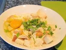Plnené kuracie stehná v alobale • Recept   svetvomne.sk Thai Red Curry, Ethnic Recipes, Food, Essen, Meals, Yemek, Eten