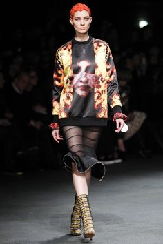 Givenchy - Love the transparent skirt!