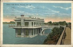 """This post card is also from the Staley Club House- wow it was awesome.  Details:     State:     Illinois (IL)     City:     Decatur     Publisher:     E. C. Kropp Co.     Type:     White Border     Stamp:     2c     Postmark/Cancel:     1925 Sep-7   Decatur, IL     Size:    3.5"""" x 5.5"""" (9 x 14 cm)    Stock #:    254151"""