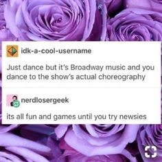 "They can just simplify newsies<<<we did that in my musical theatre class (Seize the Day is one of our group numbers) and we all still are like ""HOW? Theatre Jokes, Theatre Nerds, Music Theater, Broadway Theatre, Broadway Playbill, Theater Quotes, Musicals Broadway, Theatre Problems, Broadway Shows"