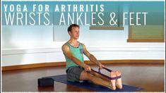 Yoga for Arthritis w/ David Procyshyn: Wrists, Ankles and Feet Yoga For Arthritis, Living Yoga, Becoming A Teacher, Yoga Block, May 7th, David, Ankle, Youtube, Chokers