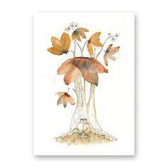 Greetingcard; 'The good tree'