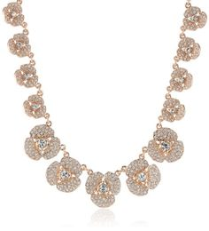 "kate spade new york ""Disco Pansy"" Single Strand Short Necklace, 16"" kate spade new york,http://www.amazon.com/dp/B00DI7GMMW/ref=cm_sw_r_pi_dp_hCvttb0BGGNW18C3. Rose gold/crystal"