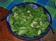 Pea, Mint and Avocado Salad