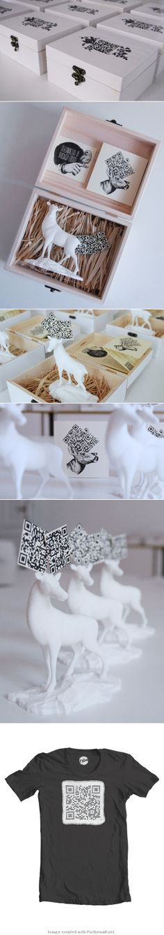 Mystical shiljur deer - NOA self promo. #promodesign #creativepromos #packagingdesign